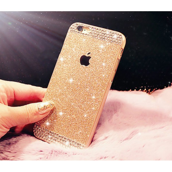 Rhinestone bling phone case for iphone 5 5s luxury diamond clear crystal back cover