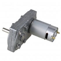 4500RPM Square High Torque Speed Reduce 12V Electric DC Gear Motor with Metal Geared Box