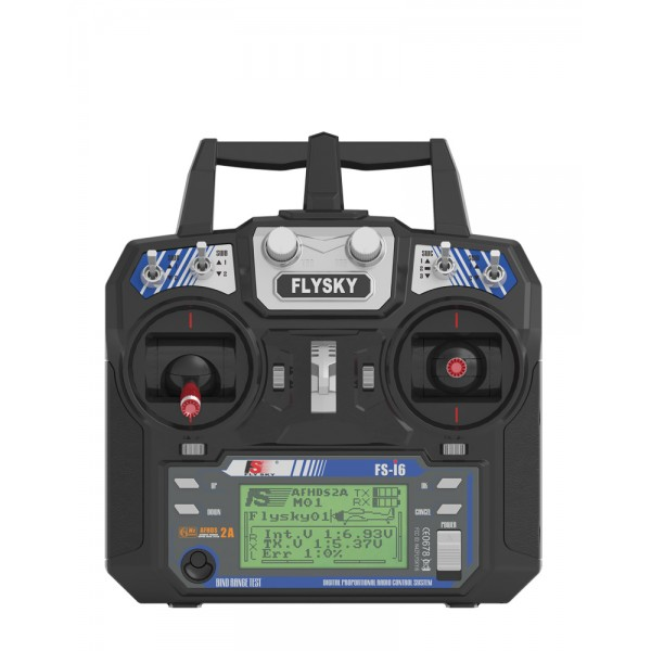 FLYSKY FS-I6  6 Channel 2.4GHz  Remote Controller RC transmitter with receiver