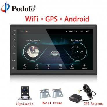 Car Multimedia Player With GPS and Wifi