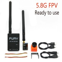 FPV Camera Ready to use 5.8G FPV Receiver UVC Video Downlink OTG VR Android Phone+5.8G 200/600mw Transmitter