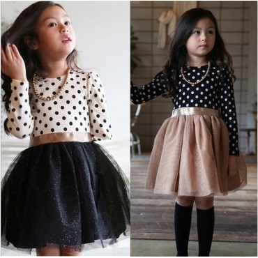 Long Sleeves Children Girl - Girl Party Wear Clothing