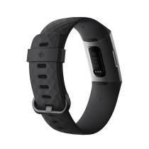 Fitbit Charge 3 Heart Rate + Fitness Band Activity Tracker In  Nepal Graphite/Black 256MSN63