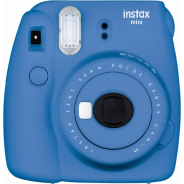 Fujifilm Instax mini 9 Instant Film Camera - Cobalt Blue ( One Year Warranty )