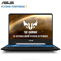 ASUS Flying Fortress 7 15.6 inch Gaming Laptop Core i7 - 9750H 8GB RAM 512GB SSD GeForce™ GTX1650 4GB