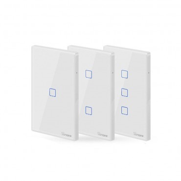 WIFI Wall Switch RF Smart Wall Touch Switch For Smart Home Work With Alexa Google Home