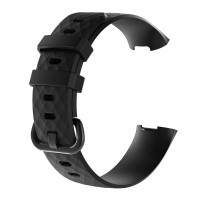 FitBit Charge 4 Strap Replacement : Silicon Strap for FitBit Charge 4