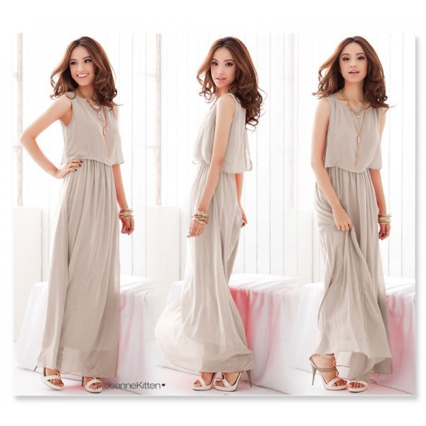 Beach dress big size Long Bohemian dress brand Chiffon dresses