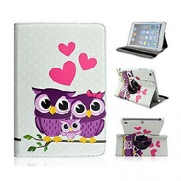 Colored Painting Protective Skin Leather Wallet Flip Stand Cover
