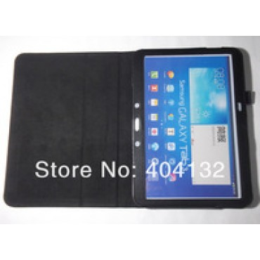Flip Cover Stand PU Leather Case For Samsung Galaxy Tab 3 10.1 P5200