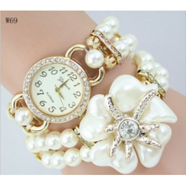 Handmade Fashion Pearl Hand Watch  in nepal