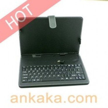 "Leather Case English Keyboard for 7"" 8"" 9"" 9.7"" 10.1"" Tablet PC with USB Mini Cables in nepal"