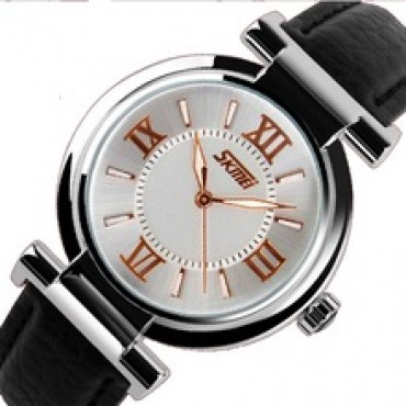 New Fashion Brand Genuine Leather Strap Women Dress Watches