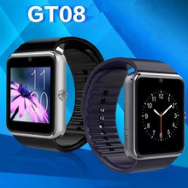 Smart watch Newest Smartwatch GT08 Digital Bluetooth Watch NFC Wrist Watch for iPhone 4/4S/5/5S/6/Samsung/HTC Android SmartPhone in nepal