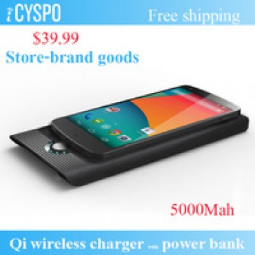 Wireless Charging Pad 4000 mAh Power Bank Wireless Charger in nepal