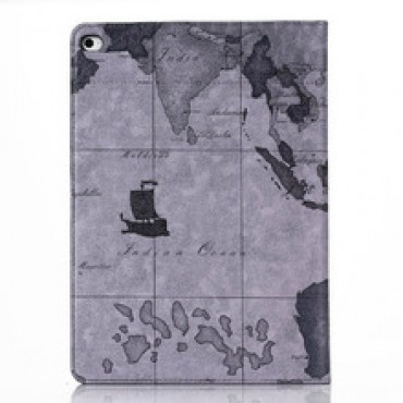 World Map style Leather Case cover for ipad air 2 ipad  in nepal