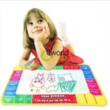 4 Color Magic Pen Aqua Baby Drawing Sheet Kids Learning Writing Board in Nepal.