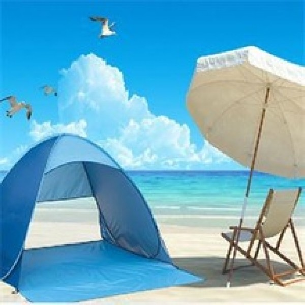 Tourism Outdoor Sun Shade Sand Tent in Nepal.