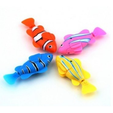Magical novel Robot Fish Activated Turbot Electronic Pets Toys