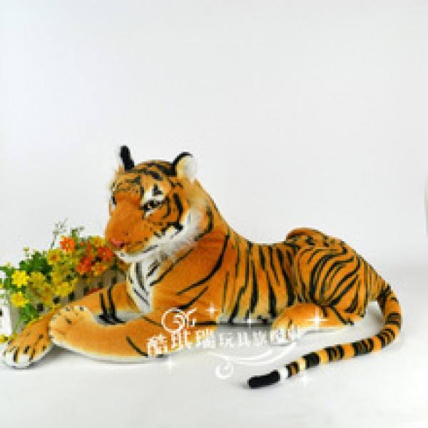 artificial tiger simulation stuffed baby toy kids doll soft plush classic toys for children gift in nepal;