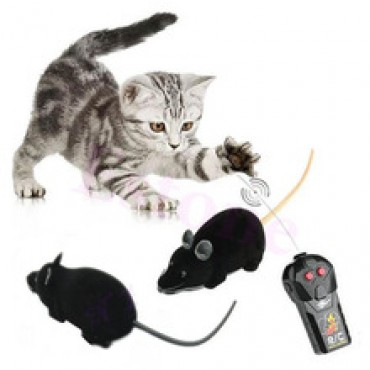 Mouse Funny Wireless Remote Control Rat Toy For Cats Dogs Pets Kids