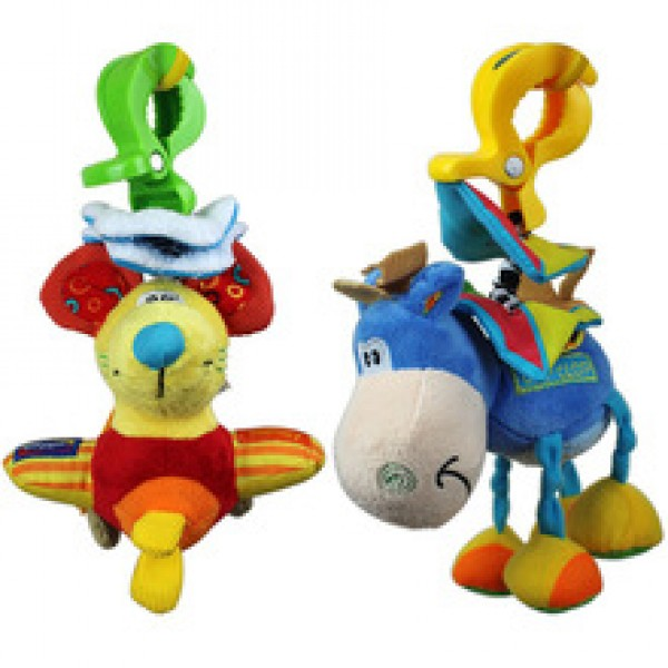 Playgro toys little donkey mouse bed lathe hanging rattles pull shock baby toy in Nepal.