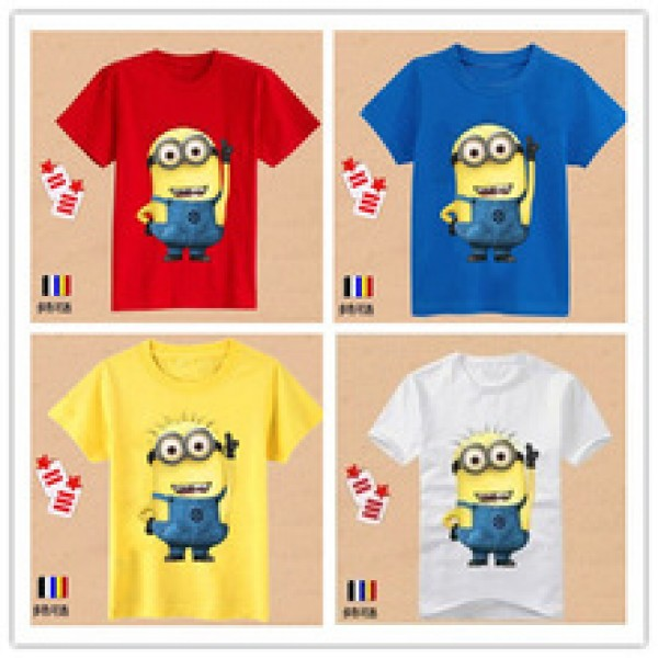hottest children summer clothes unisex t shirt much color kids cartoon  in nepal