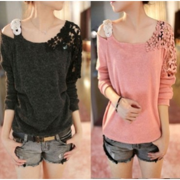 Korean Design fashion women spring Loose Pullovers