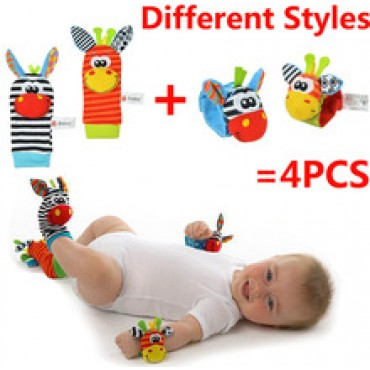 Garden Bug Wrist Rattle and Foot Socks Free shipping in Nepal.