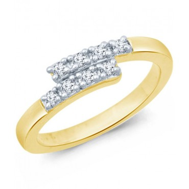 18 Kt Gold Plated Ring For Women
