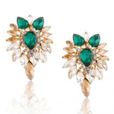Beautiful fashion Colorful Crystal Earrings