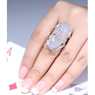 Crystal Quartz Cocktail Ring