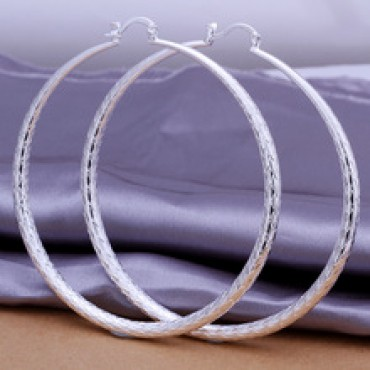 Diameter 7.1CM big hoop earring in Nepal.