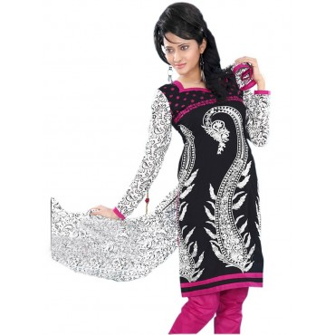 Black Cotton Dress Material in Nepal.