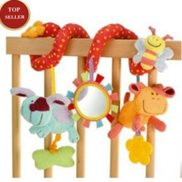 Spiral Activity Hanging Decoration Baby Toys in Nepal.