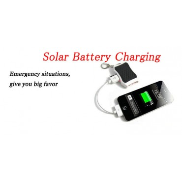Solar Powerbank Key Chain
