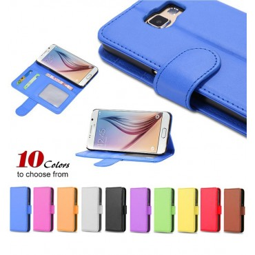 S6 / S6 Edge PU Leather Case For Samsung Galaxy S6 G9200 G925