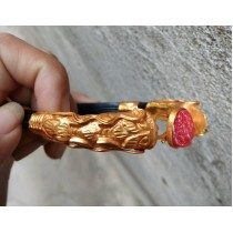 24caret gold plated dragon Ball with ganesh