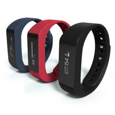 iWown I5 Plus Smart Bracelet Bluetooth 4.0 Waterproof Touch Screen Fitness Tracker Health Monitor