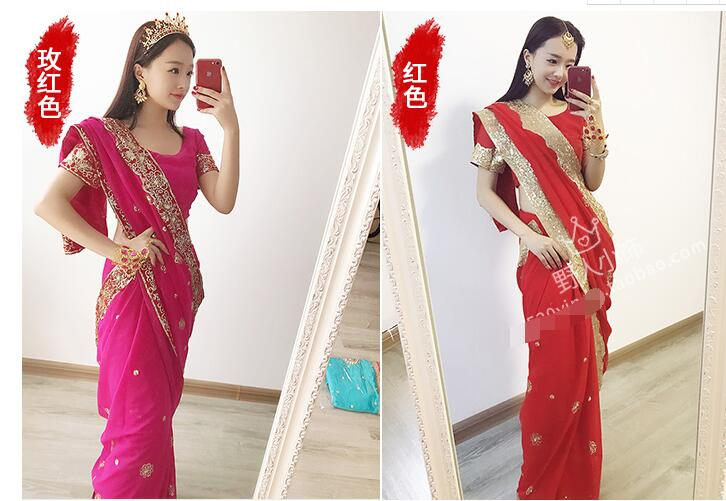 India-Sarees-Fashion-Woman-Ethnic-Styles-Embroidery-Sarees-Beautiful-Dance-Costume-Lady-Long-Comfortable-Clothing-1000009005438