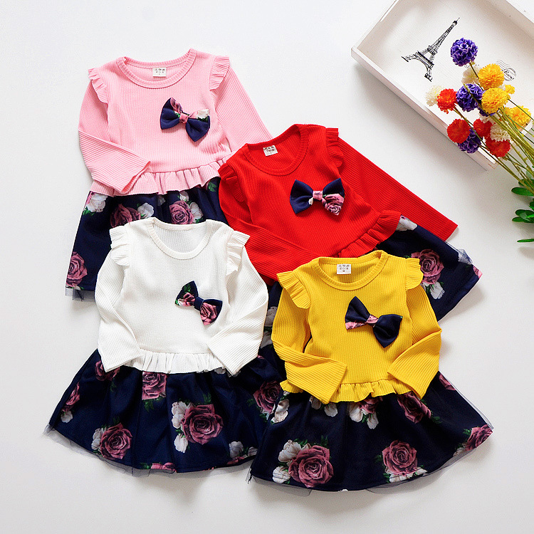 Spring-Autumn-Toddler-Girl-Dress-Cotton-Long-Sleeve-Toddler-Dress-Floral-Bow-Kids-Dresses-for-Girls-Fashion-Girls-Clothing-32956603466