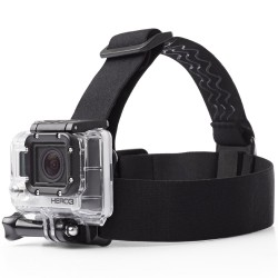 ADJUSTABLE HEADBAND HEAD STRAP BELT MOUNT ADAPTER FOR  SJCAM , GoPro