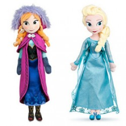 Anna and Elsa Brinquedos Even Olaf best toy