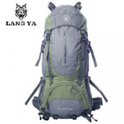 Climbing Camping Hiking Backpack Mountaineering Bag in Nepal.
