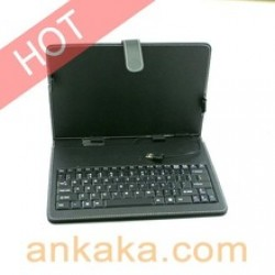 """Leather Case English Keyboard for 7"""" 8"""" 9"""" 9.7"""" 10.1"""" Tablet PC with USB Mini Cables in nepal"""
